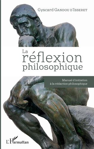 Couverture La réflexion philosophique