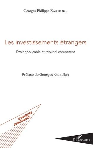 Couverture Les investissements étrangers