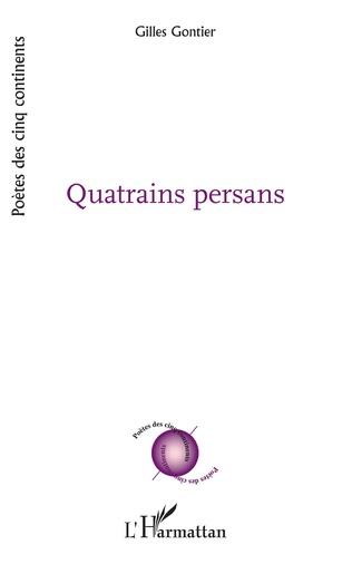 Couverture Quatrains persans