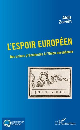 Couverture L'espoir européen
