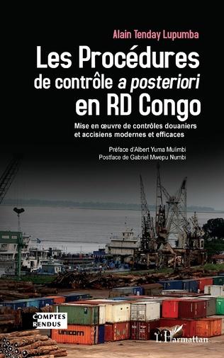 Couverture Les Procédures de contrôle <em>a posteriori</em> en RD Congo