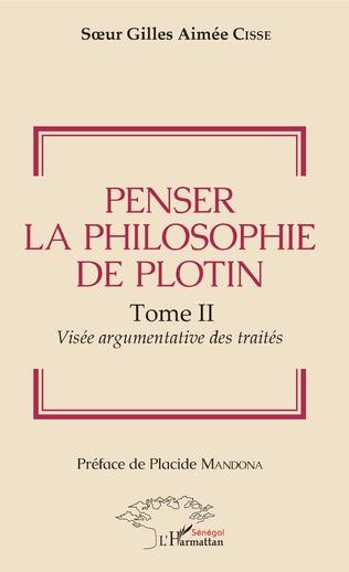 Couverture Penser la philosophie de Plotin Tome II
