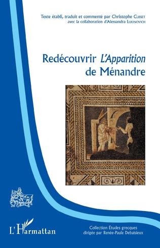 Couverture Redécouvrir l'Apparition de Ménandre
