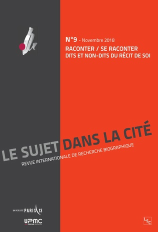 Couverture RACONTER / SE RACONTER