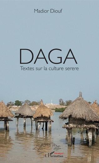 Couverture Daga Textes sur la culture serere