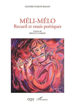 Couverture Méli-mélo Recueil et essais poétiques