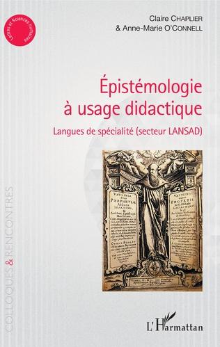 Couverture Epistémologie à usage didactique
