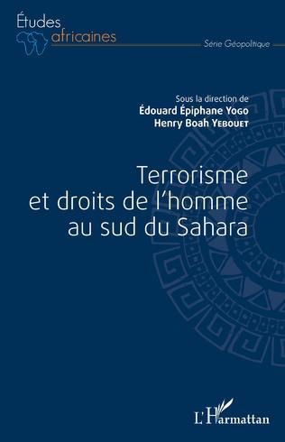 Couverture Terrorisme et droits de l'homme au sud du Sahara