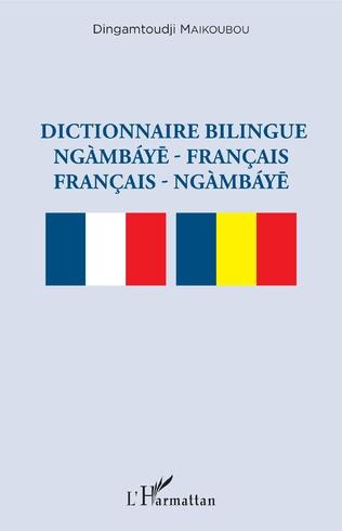 Couverture Dictionnaire bilingue ngàmbáye - français français -  ngàmbáye
