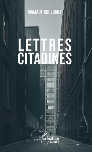 Couverture Lettres citadines