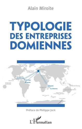 Couverture Typologies des entreprises domiennes