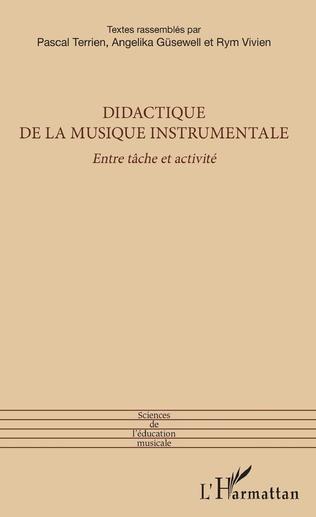 Couverture Didactique de la musique instrumentale