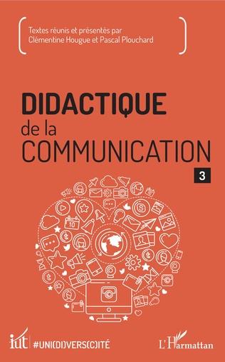 Couverture Didactique de la communication 3