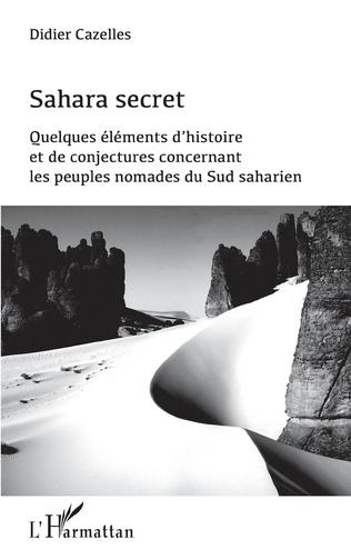 Couverture Sahara secret