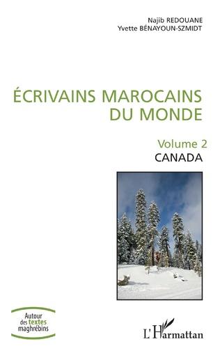 Couverture Écrivains marocains du monde