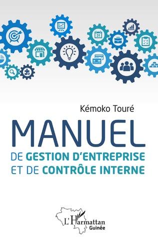 Couverture Manuel de gestion d'entreprise et de contrôle interne