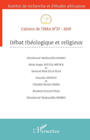 Couverture Débat théologoque et religieux