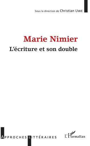 Couverture Marie Nimier