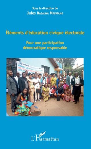 Couverture Eléments d'éducation civique électorale