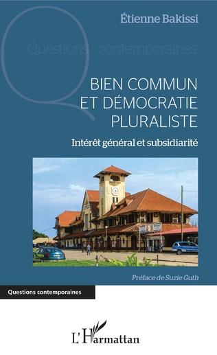 Couverture Bien commun et démocratie pluraliste