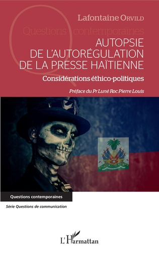 Couverture Autopsie de l'autorégulation de la presse Haïtienne