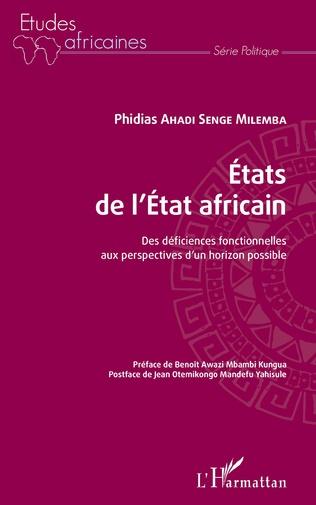 Couverture Etats de l'Etat africain