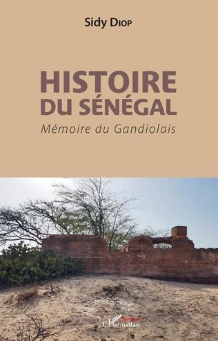 Couverture Histoire du Sénégal