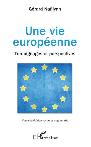 Couverture Une vie européenne