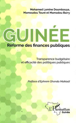 Couverture Guinée réforme des finances publiques