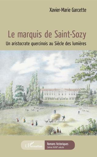 Couverture Le marquis de Saint-Sozy
