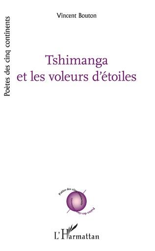 Couverture Tshimanga et les voleurs d'étoiles