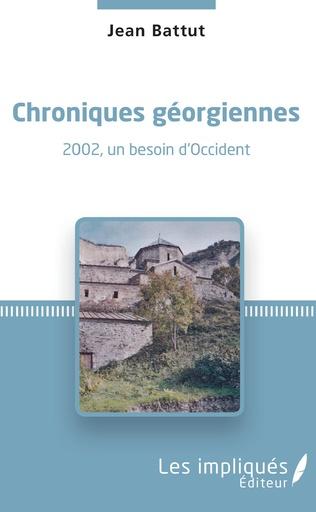 Couverture Chroniques géorgiennes