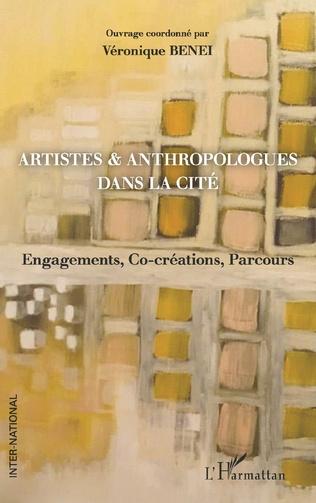 Couverture Artistes & anthropologues dans la Cité