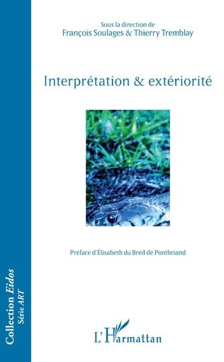 Couverture Interprétation & extériorité