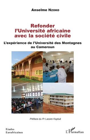 Couverture Refonder l'Université africaine avec la société civile