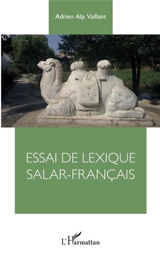 Couverture Essai de lexique Salar-Français