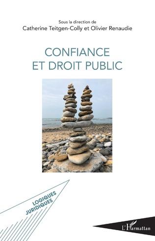 Couverture Confiance et droit public