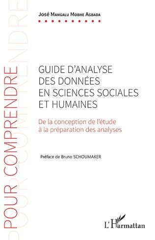 Couverture Guide d'analyse des données en sciences sociales et humaines