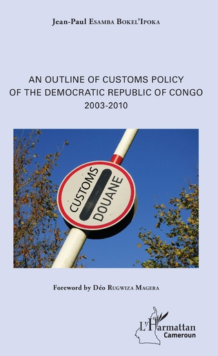 Couverture An Outline of Customs Policy of the Democratic Republic of Congo