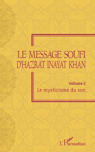 Couverture Le message soufi d'Hazrat Inayat Khan