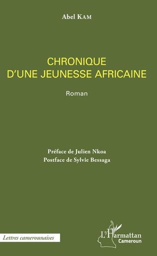 Couverture Chronique d'une jeunesse africaine