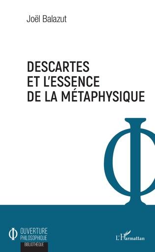 Couverture Descartes et l'essence de la métaphysique
