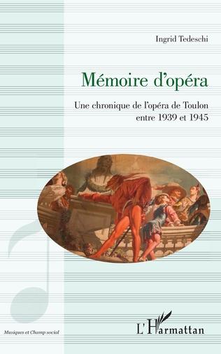 Couverture Mémoire d'opéra