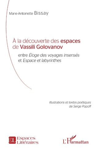 Couverture À la découverte des espaces de Vassili Golovanov