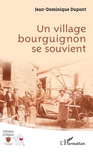 Couverture Un village bourguignon se souvient