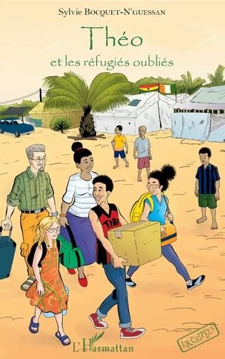 Couverture Théo et les réfugiés oubliés