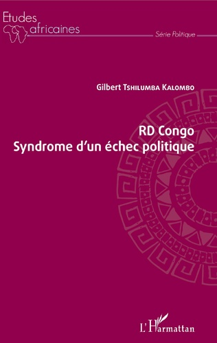 Couverture RD Congo Syndrome d'un échec politique