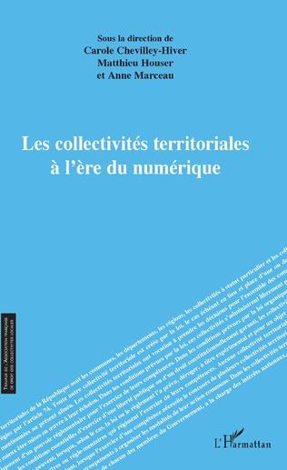 Couverture Les collectivités territoriales à l'ère du numérique