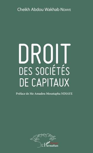 Couverture Droit des sociétés de capitaux