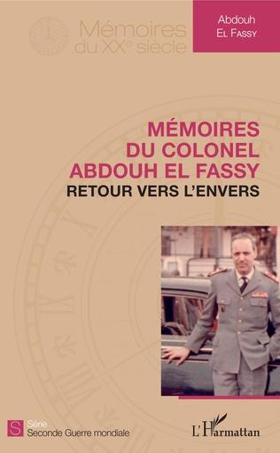 Couverture Mémoires du colonel El Fassy